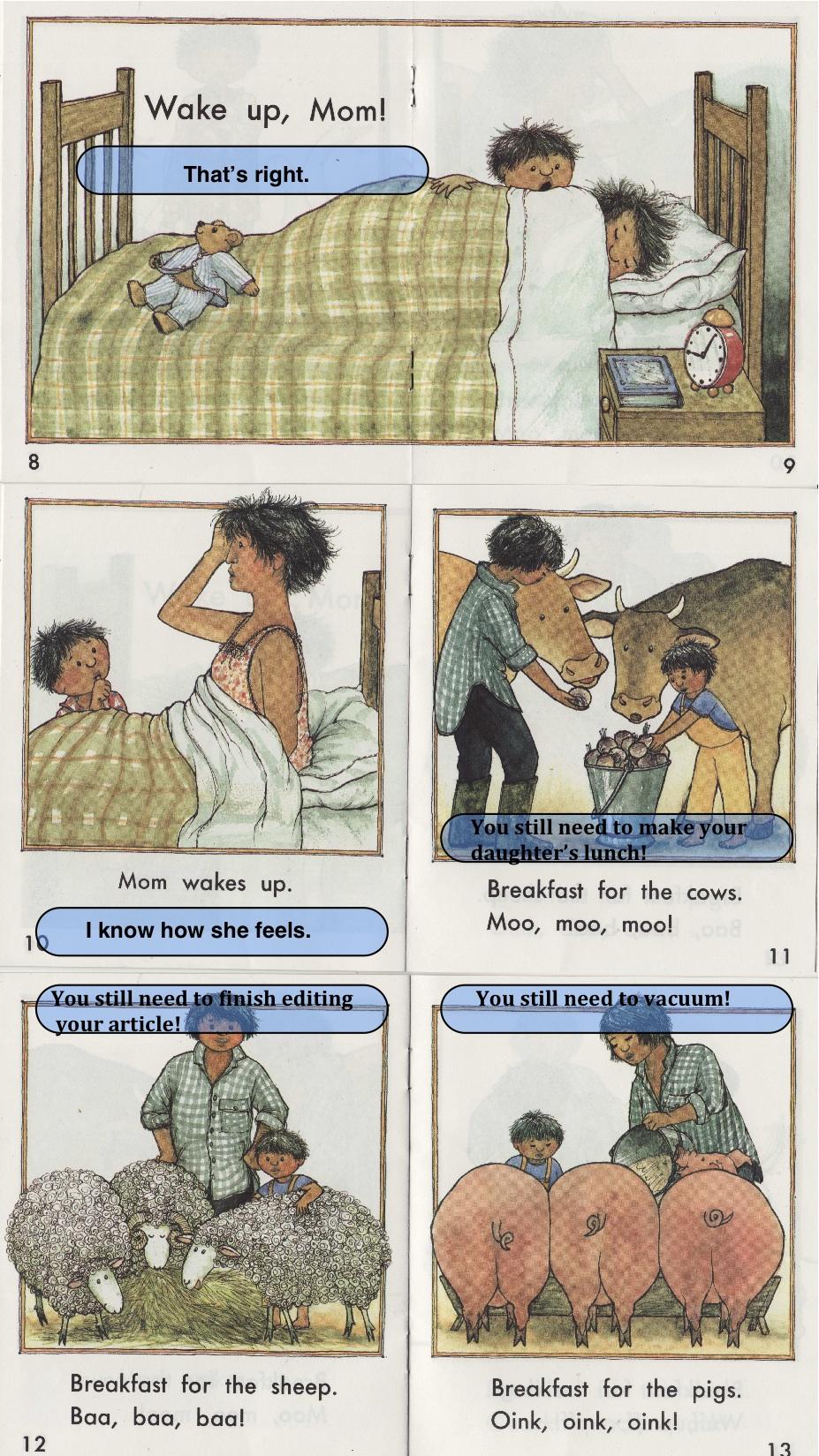 Wake Up Mom Children S Books